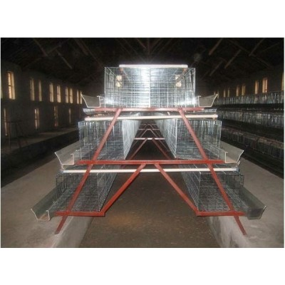 Chicken Cage Hen Coop Layer Coop Galvanized Layer Chicken Cage