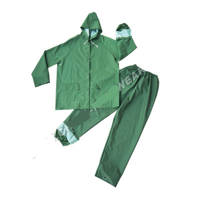 raincoat pvc rainy pvc pu coat rain waterproof  coat clothes