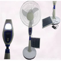 solar rechargeable fan,  solar fan,AC/DC operated fan, stand solar fan, remote control  fan,rechargeable fan