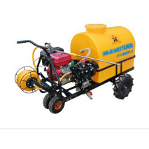 Self-contained power sprayer  Trolley Gasoline Engine Power Sprayer, diaphragm pump plunger pump boom sprayer