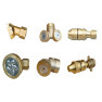 kinds of brass nozzles for sprayer copper nozzle jet nozzles spray tee spray nozzles one hole two hole 4 holes head brass tip head