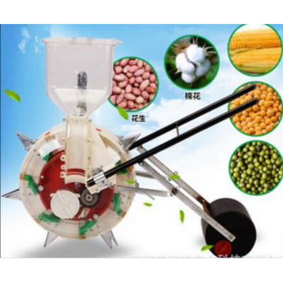 conveniently Planting Machine walking seeding machine hand push seeder seeding seed machine for corn bean peanut ect