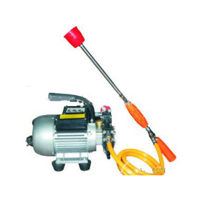 Electric motor sprayer