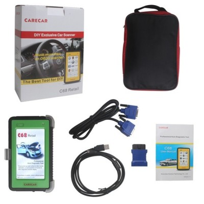 Original CareCar C68 Retail DIY Professional Auto Diagnostic Tool