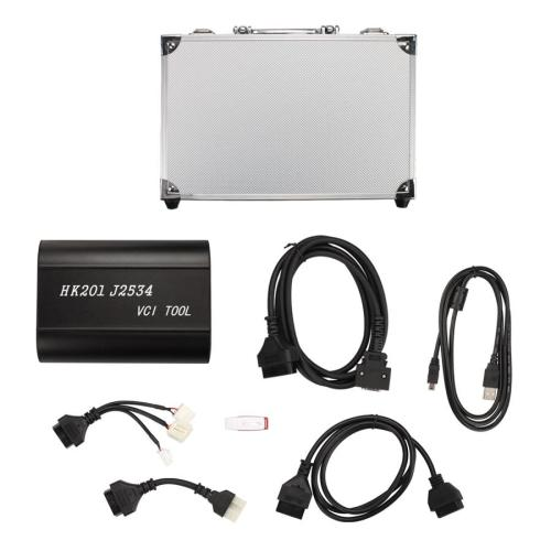 HK201 J2534 VCI Diagnostic Tool V15