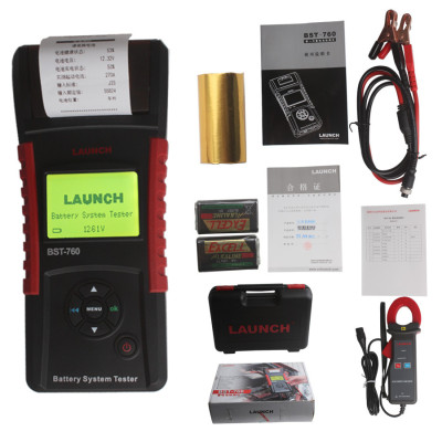 Launch BST-760 Battery Tester in Mainland China