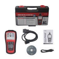 MaxiDiag Elite MD802 For 4 System With Datastream Model Engine,Transmission,ABS and Airbag Code Scanner