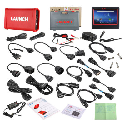 Launch X431 V+ Wifi/Bluetooth Plus HD Heavy Duty Truck Diagnostic Module