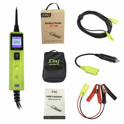 Original JDIAG BT-100 Battery Electrical System Circuit Tester