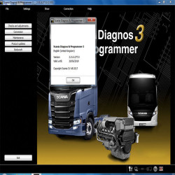 2017 Newest Scania VCI & VCI2 SDP3 V2.31 Software for Trucks/Buses Without USB Dongle