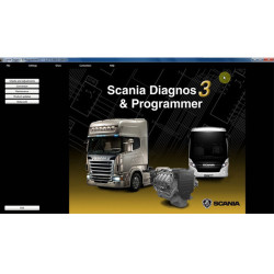 Newest SDP3 V2.27 Software for SCANIA VCI2/VCI3 without USB Dongle