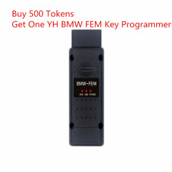 Buy 500 Tokens For Digimaster 3/CKM100 Get One YH BMW FEM/BDC Key Programmer