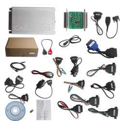 Carprog Full Perfect Online Version Firmware V8.21 Software V10.93 with All 21 Adapters Including Full Authorization