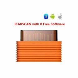 New Icarscan DiagnosticTool Full Systems for Android/iOS with 10 Free Software Support Online Update