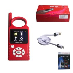 V9.0.0 Handy Baby Hand-held Car Key Copy Auto Key Programmer for 4D/46/48 Chips Support Multi-Languages