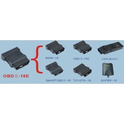 X431 OBD ii 16 E Connector