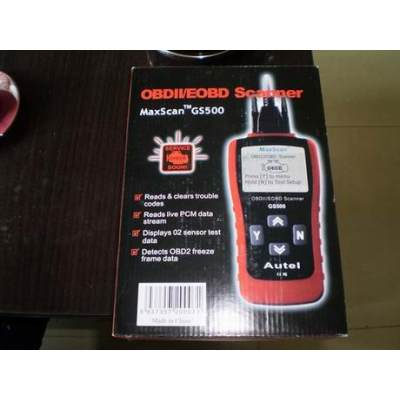 Diagnose Code Leser OBDII EOBD Scanner Tool CAN-Bus OBD2 Reader GS500