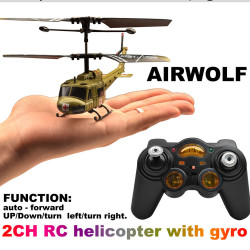 2CH Military rc copter/2 channel real life helicopter/2CH simulator