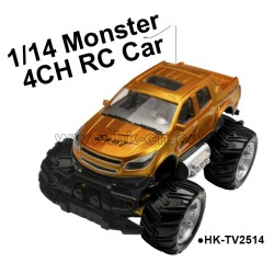 4 channel 1/14 2 WD SUV RC Truck,rc car