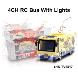 4 channel RC Bus with Lights
