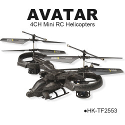 TOYABI Multifunction 4CH Similar Avater Remote Control Helicopters Toys Feature: