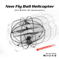 3.5CH RC Sphere Helicopter