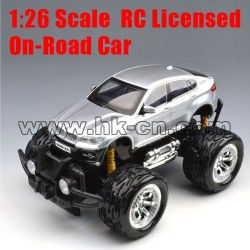 1:26 Scale RC Licensed On-road Car (big tyre, with battery)