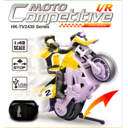 1:43 Scale Mini Stunt RC Motobike