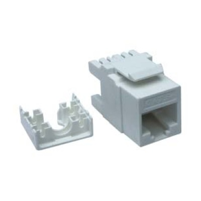 RJ45 data connector FEMALE CAT-6 UTP (AUTO-Crimpable)