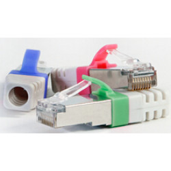 Advanced RJ45 Cat6a shielded Plug