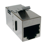 CAT 5E Shielded Keystone Coupler, Snap-In