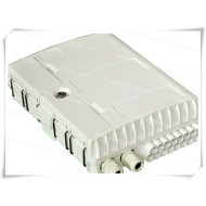 Outdoor 1*16 fiber optic PLC Splitter terminaltion box for wall mount pole mount install