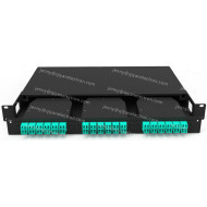 Slide-Out 3 Adapter Metal High Density 1U Modular MTP/MPO Patch Panel
