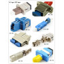 SC Simplex/Duplex Plastic/Metal Fiber Optic Adapter/hybrid adapters