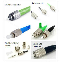 FC/PC/APCUPC Singlemode/multimode simplex ø0.9/2.0/3.0mm Fiber Optic Connector