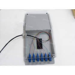 6/12 SC 24 LC Fiber Wall Mount Fiber Optic Termination Box
