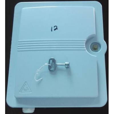 12 Cores Plastic Optical Terminal Box with PC/ABS ftth splitter fiber distribution box