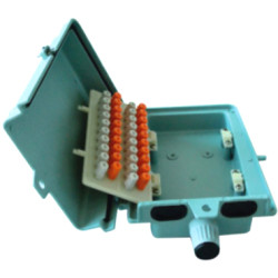 20 pair Aluminium Distribution Box                 JA-2073