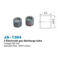 2 Electrode gas discharge tube 8x6mm                          JA-1304
