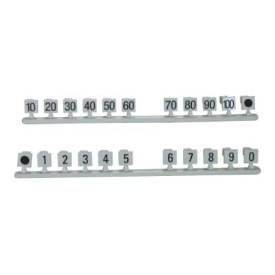10 pair Number flag for LSA disconnection module                         JA-1312