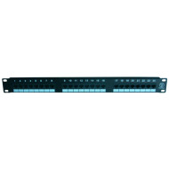 Cat5e  24 port  patch panel                 JP-6416