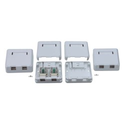 Tablero a la pared RJ45: JC-2103