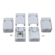 Tablero a la pared RJ45: JC-2104