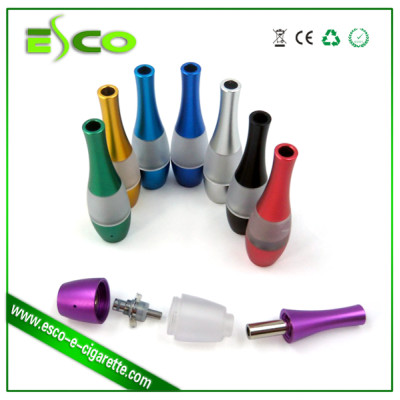 Bottom coil Vase clear atomizer