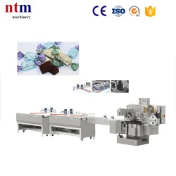Chocolate Automatic Feeding Double Twist Packing Machine