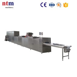 One shot chocolate moulding line