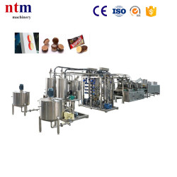 Double color, double layer hard candy depositing machine