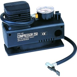 300psi mini auto compressor with gauge PRC602