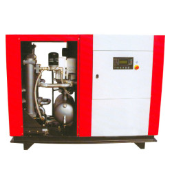Special screw air compressor for tunnels