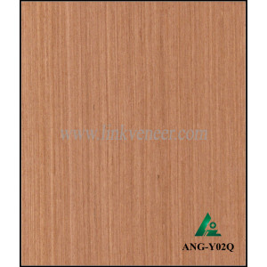 ANG-Y02Q Engineered wood veneer angir veneer for interior doors face and plywood face